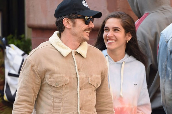 James Franco's girlfriend Isabel Pakzad