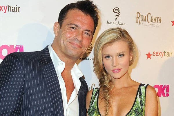 Joanna Krupa with ex-husband Jago