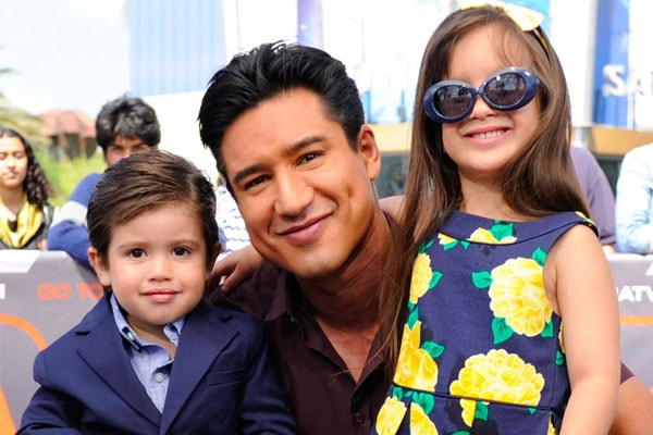 Mario Lopez children with Courtney Mazza.