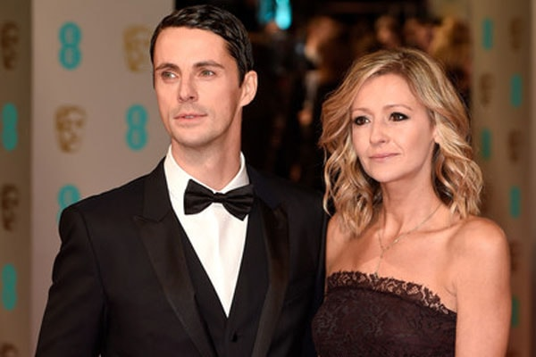 Matthew William Goode's wife Sophie Dymoke.