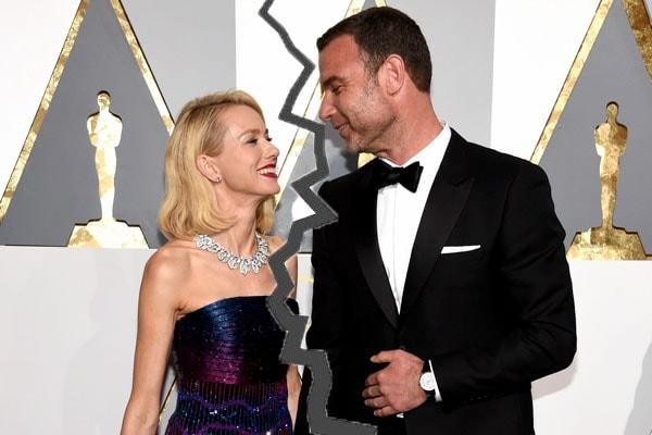 Naomi Watts break up with Liev