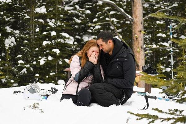 Nayel Nassar's engagement with Jennifer Katherine Gates