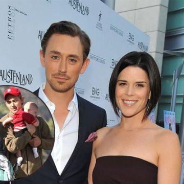 Meet Caspian Feild – Neve Campbell's Son With Partner JJ Feild