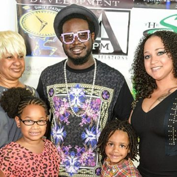 T-Pain's Three Children With Wife Amber Najm. Weird Baby Names But Beautiful Family