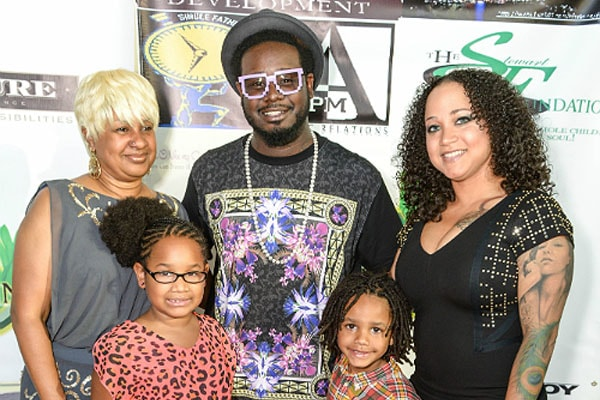 T-Pain's wife and children
