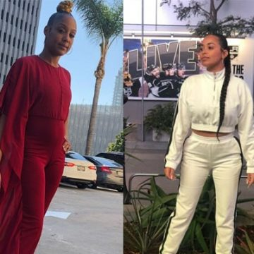 Tanisha Foster and Lauren London Feud – Tanisha Trying to Take Back Nipsey Hussle