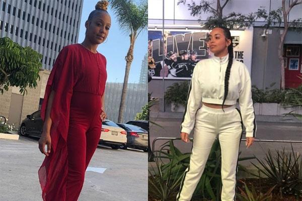 Tanisha Foster Lauren London's feud