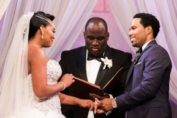 Yandy Smith and Mendeecees Harris's wedding