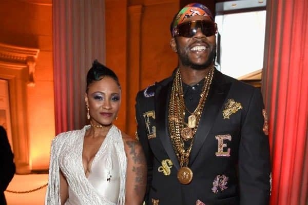 Kesha Ward and 2 Chainz