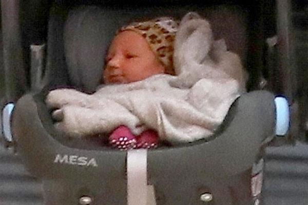 Adam Levine's daughter, Gio Grace Levine