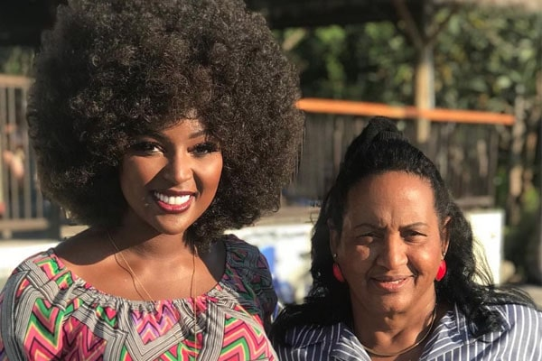 Ana Maria Oleaga With Her Daughter Amara La Negra.