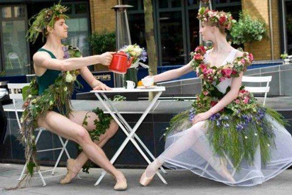 Calum is a ballet dancer.