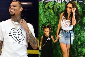 Daughterof Chris Brown and Nia Guzman, Royalty Brown