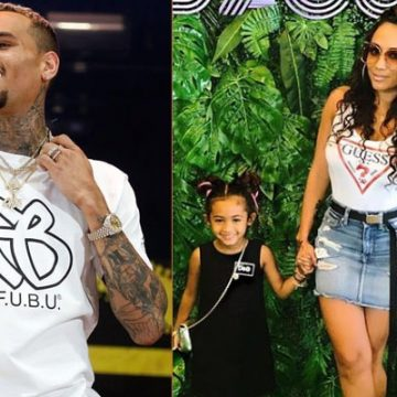 Nia Guzman, Chris Brown's Baby Mama Needs More Child Support For Daughter Royalty Brown