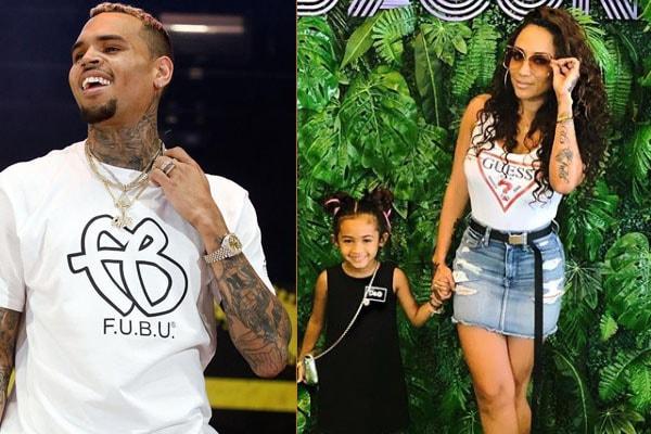 Daughterof Chris Brown and Nia Guzman, Royalty Brown