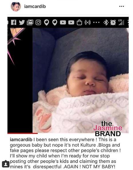 Photos of Cardi B's daughter Kulture