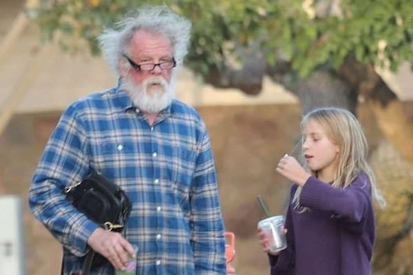 Nick Nolte and his daughter Sophie Lane Nolte