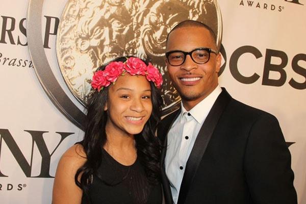 T.I. with his daughter Deyjah Imani Harris