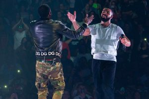 Drake and Meek Mill