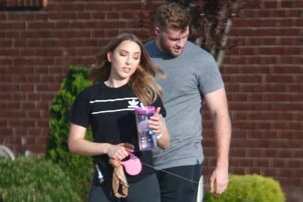 Hailie Jade's boyfriend Evan McClintock