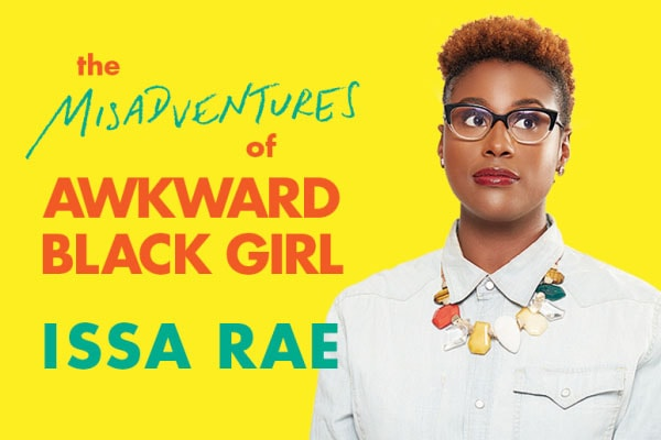 Issa Rae on her show.