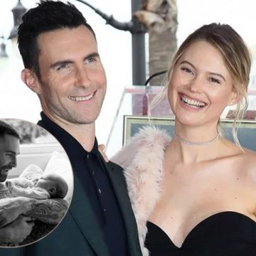Meet Gio Grace Levine – Photos of Adam Levine's Daughter with Wife Behati Prinsloo