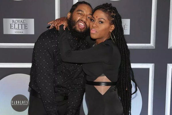 Lil Mo and her husband