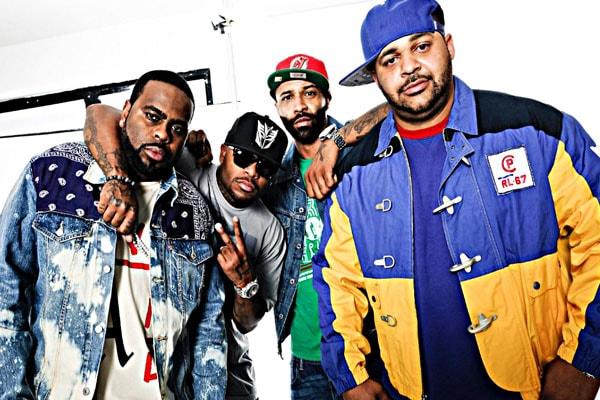 Joe Budden's rap group.