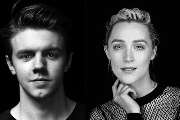 Saoirse Ronan and Calum Lowden