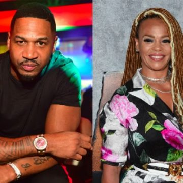 """LHHA"" Star Stevie J's Marriage With Wife Faith Evans. Widow of Late Rapper Notorious B.I.G."