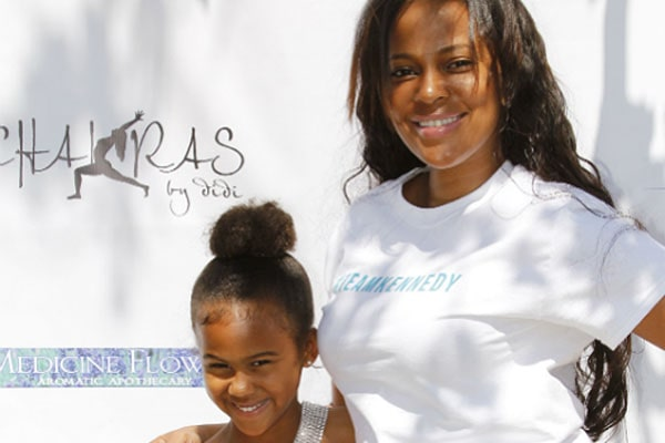 Sundy Carter and her daughter.