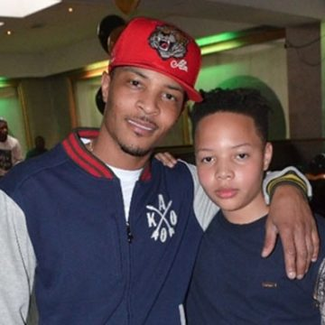 TI's Son Domani Harris Already Nominated For Award, All Grown Up Has Influence From Father