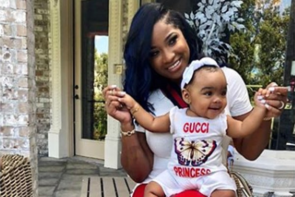 Daughter of Toya Wright