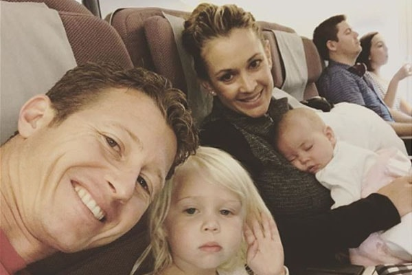 Nicole Briscoe'sdaughter Blake James Briscoe and other members of her family
