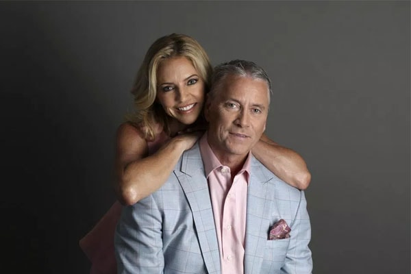 Tom and Christine Glavine