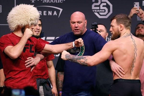 Conor McGregor lost the fightagainst Khabib Nurmagomedov