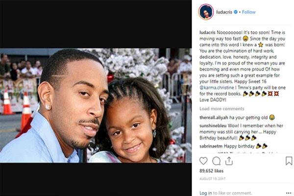 Karma Bridges, daughter of Ludacris