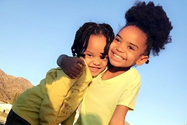 Daughters of Kyla Pratt, Lyric Kai Kilpatrick and Liyah Kirkpatrick