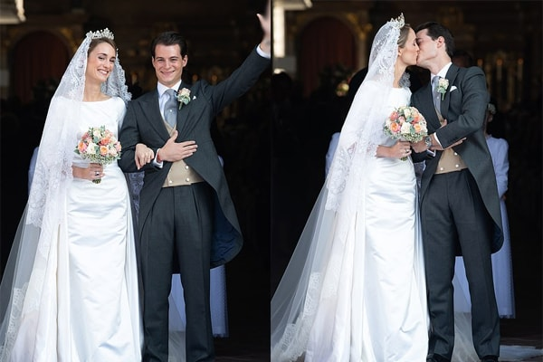 Duchess Sophie of Wurttemberg tied theknot to Count Maximilien of Andigne