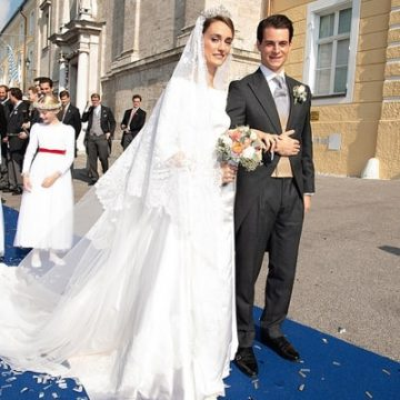 Duchess Sophie's Wedding Dress was Similar to Princess Meghan Markle and Princess Angela of Lichtenstein