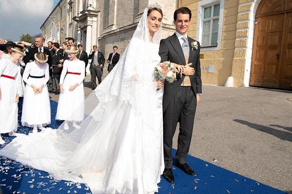 Duchess Sophie's wedding dress was inspired by Megan Markle's dress.