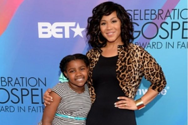 Krista Nicole Campbell, daughter of Erica Campbell