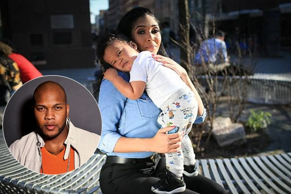 Zohar Paxton is the son of Florida with baby mama Alexis Adams