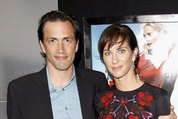 Jennifer Hegeney and husband, Andrew Shue