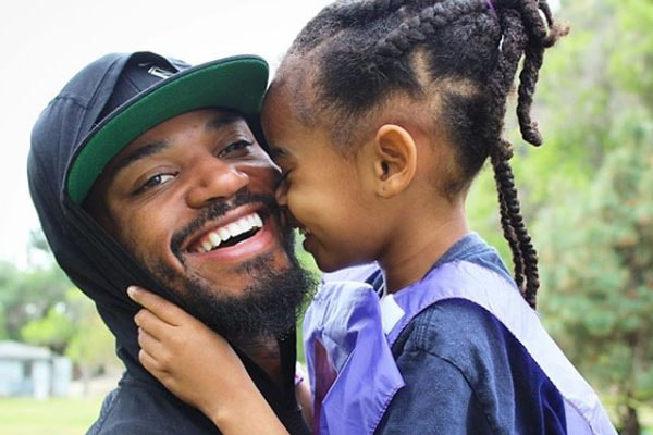 Kyla Pratt's daughter Lyric Kai and husband Danny Kilpatrick