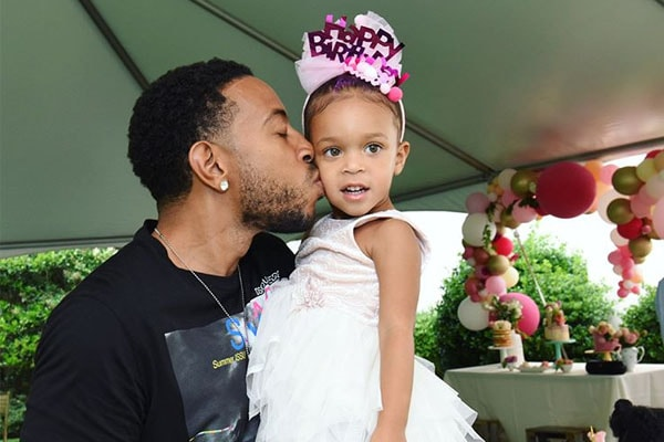 Ludacris and his daughter Cadence Gaelle Bridges