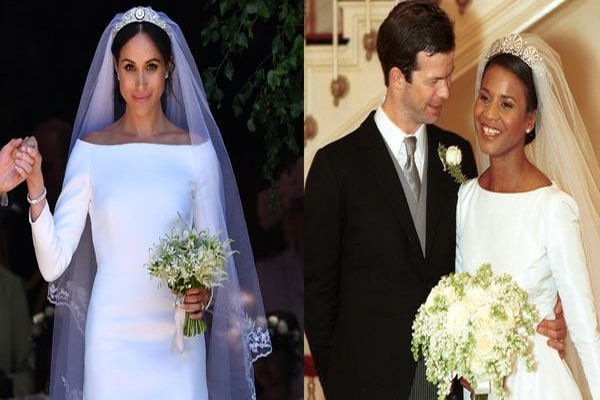Megan Markle wedding gown inspired by Princess Angela.