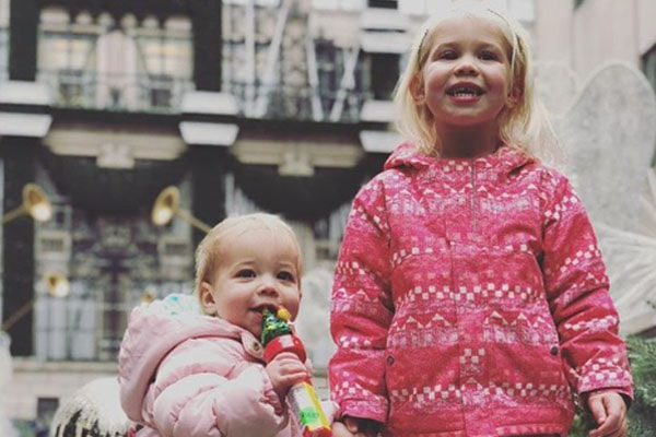 Blake James Briscoe and Finley Briscoe, daughters of Nicole Briscoe