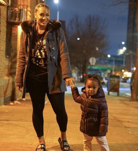 Daughter of rapper Nya Lee