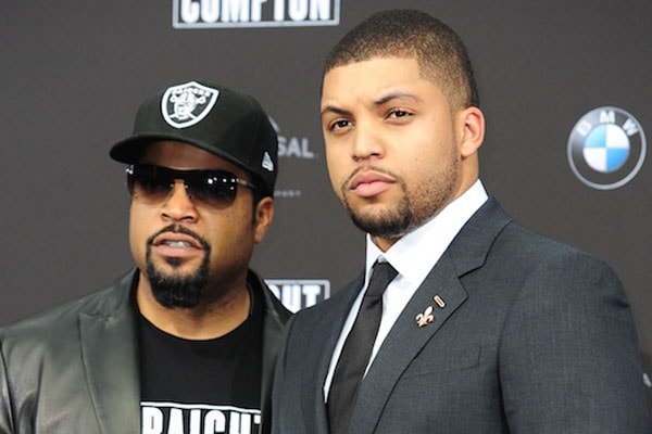 Ice Cube with his son O'Shea Jackson and his net worth